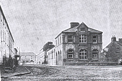 temperance hall shortly after it was built